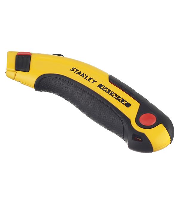 цена на Нож строительный Stanley Fatmax 19 мм с выдвижным лезвием (5 лезвий)