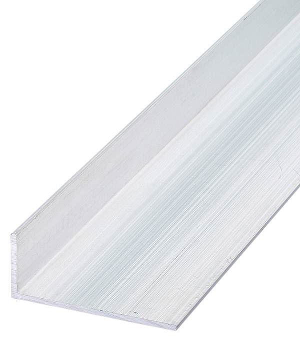 Уголок алюминиевый 50х20х2х2000 мм