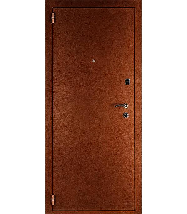 Дверь входная ДК Комфорт беленый дуб 960х2050 мм левая c фурнитурой citizen настольный калькулятор sdc 554s