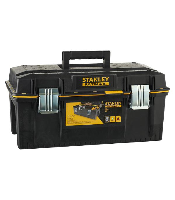 Ящик для инструментов Stanley Fatmax (1-94-749) 584х305х267 мм stanley ящик для инструмента jumbo с 2 мя съемными органайзерами в крышке отсеком для отверточных