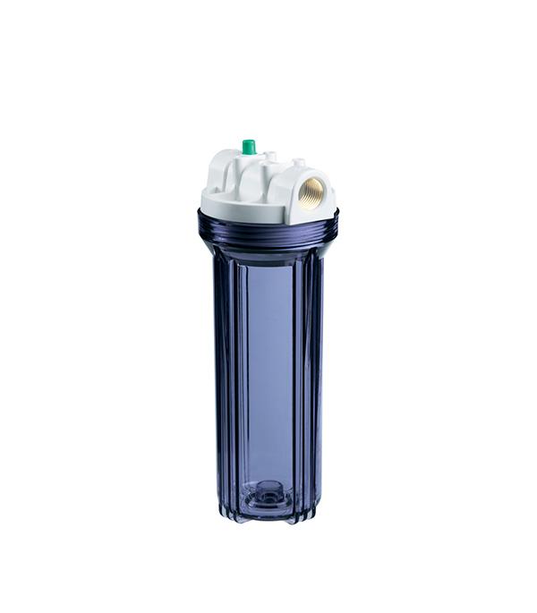 Купить Корпус фильтра для холодной воды 1/2 Гидротек прозрачный 10SL (HCC-10SL)