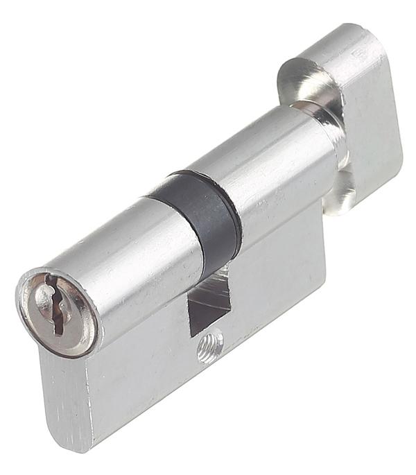 Цилиндровый механизм ФЗ E AL 60 CP Т01 хром цилиндровый механизм фз e al 70 pb латунь