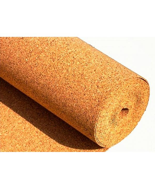 Подложка пробковая 3 мм 1х10 м Lavelly 10,0 кв.м