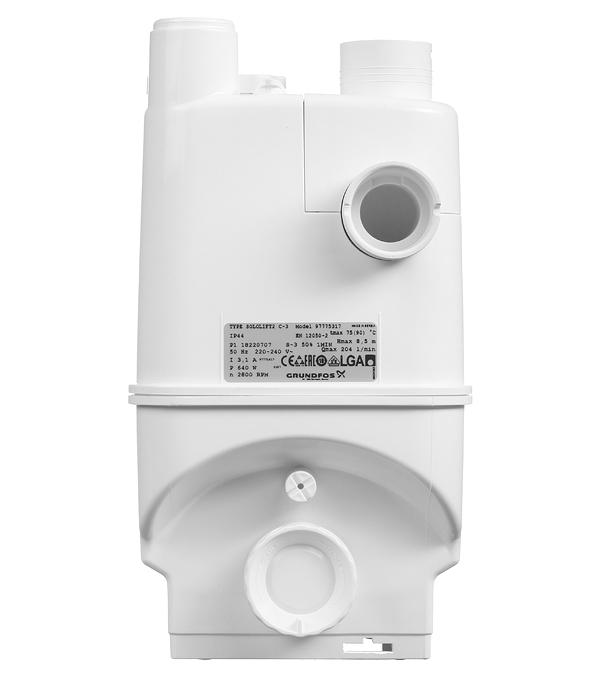 Насосная канализационная установка Grundfos Sololift2 C-3 (97775317) 149 л/мин