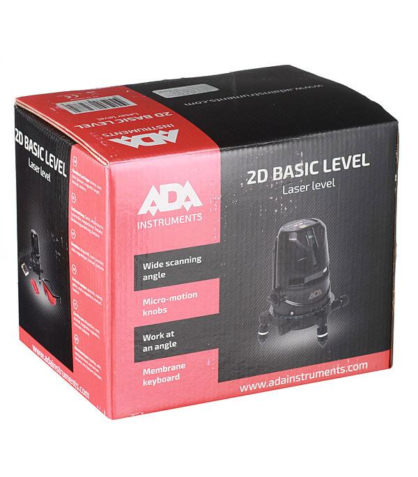 Нивелир лазерный ADA 2D Basic Level (А00239)
