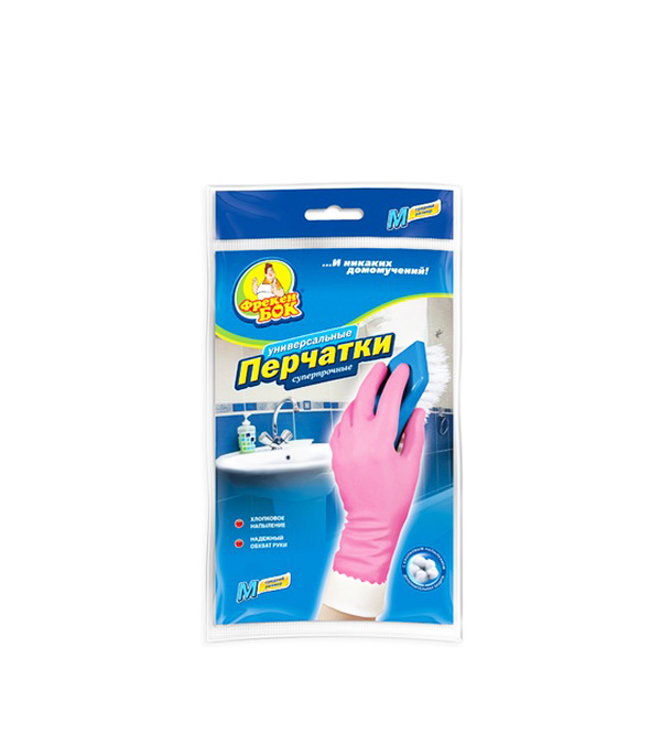 Перчатки универсальные Фрекен Бок плотные размер L перчатки латексные home queen размер l