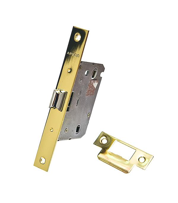 Защелка с фиксацией Apecs 5600-WC-G золото врезная магнитная защелка apecs 5300 m wc g 00015733