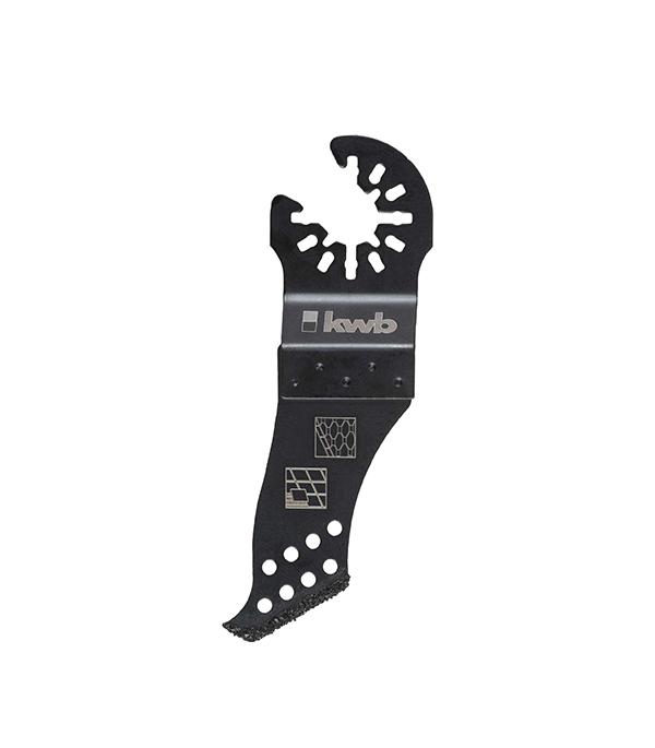 Пильное абразивное погружное полотно KWB Стандарт 25 мм для МФУ пильное полотно для мфу по металлу 10 мм kwb стандарт