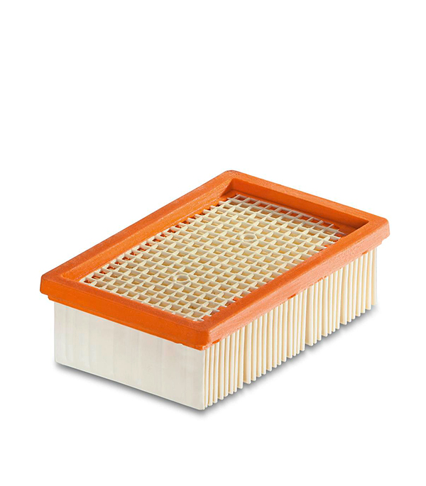 Фильтр для пылесоса Karcher WD 4/5/6 плоский складчатый для сухой пыли