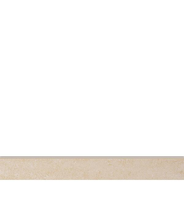 Керамогранит декор 76х600х10 мм бежевый Travertino плинтус/Грасаро керамогранит декор 76х600х10 мм бежевый travertino плинтус грасаро