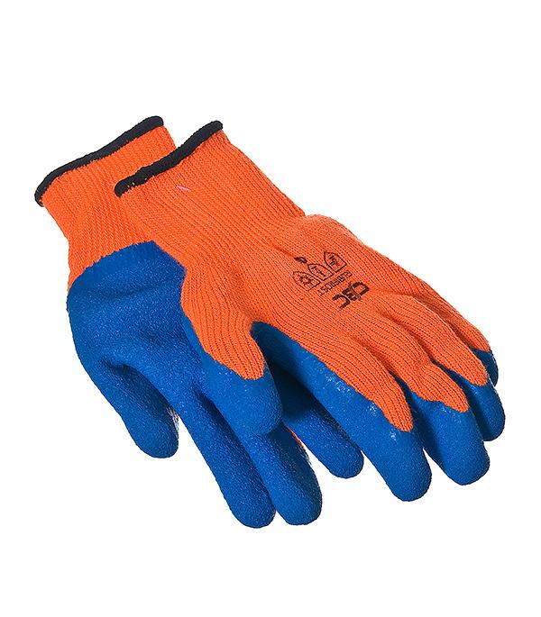 Перчатки утепленные акриловые с латексным покрытием перчатки утепленные newton per48 русские львы