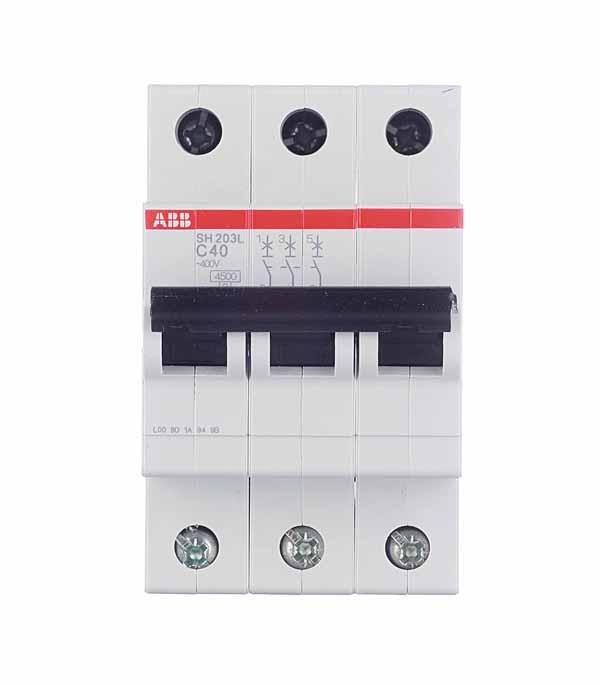 Купить Автомат 3P 40А тип С 4.5 kA ABB SH203L