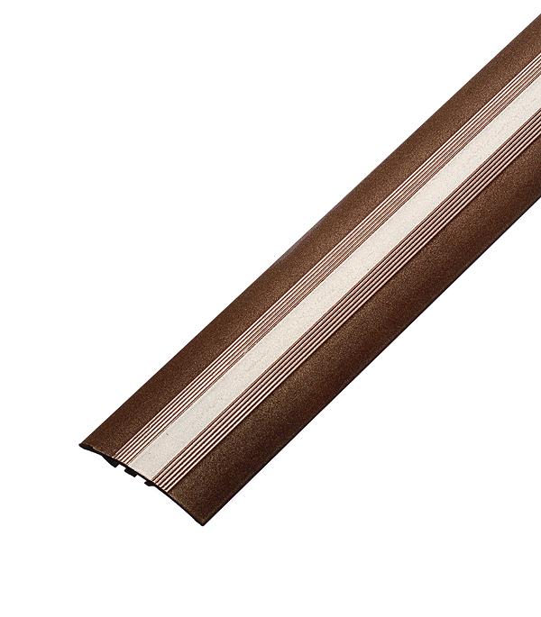 цена на Порог разноуровневый 40х1800 мм перепад до 8 мм Медь