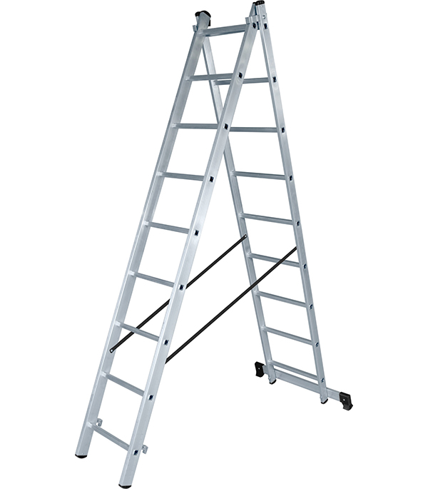 Лестница Новая высота 2-х секционная 2х9