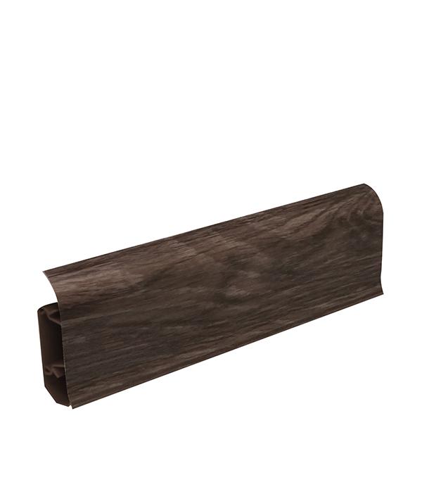 Плинтус пвх с мягким краем Wimar 58 мм серия колибри дуб каменный (58х22х2500 мм)