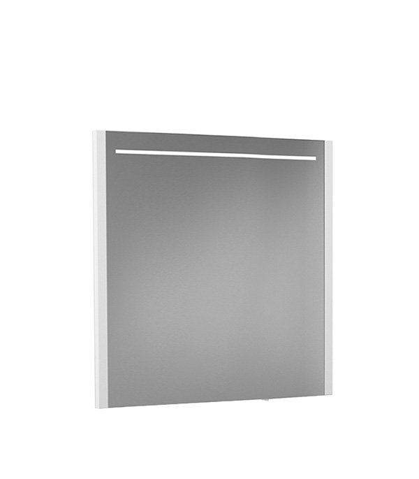 Зеркало BELUX Мадрид 800 мм с подсветкой белое
