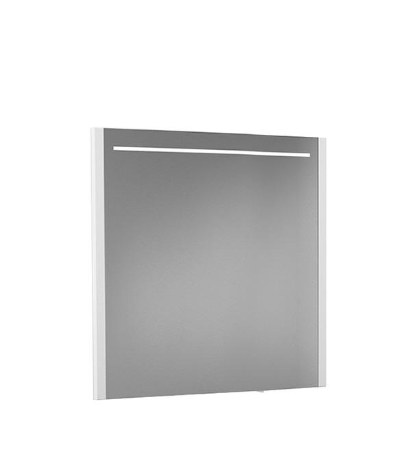 Зеркало BELUX Мадрид 800 мм с подсветкой белое belux шкаф пенал belux анталия белый l