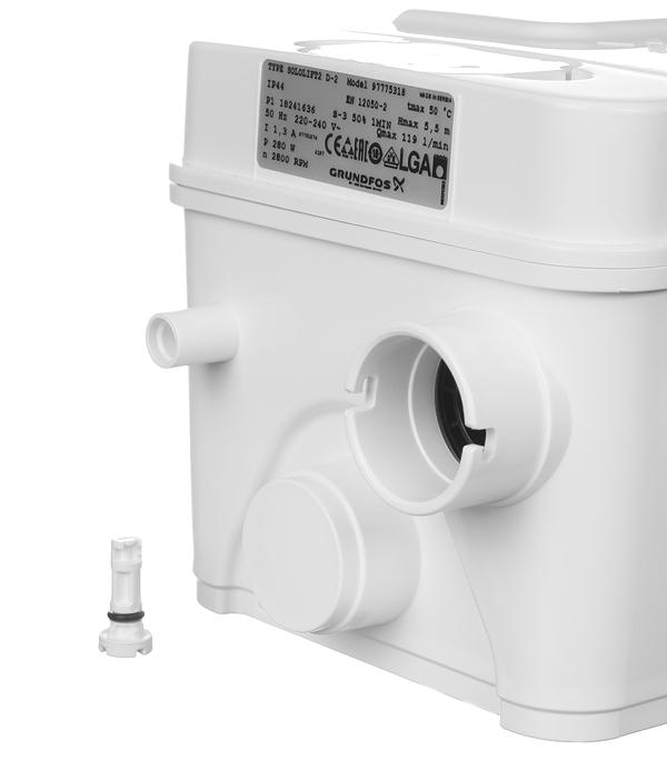 Насосная канализационная установка Grundfos Sololift2 D-2 (97775318) 119 л/мин