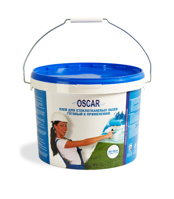 купить Клей для стеклообоев Oscar 10 кг готовый онлайн