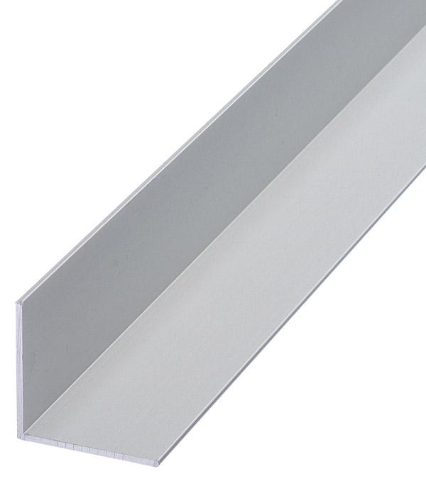 Купить Угол алюминиевый 30х30х1, 5х1000 мм анодированный, Нет цвета, Алюминий