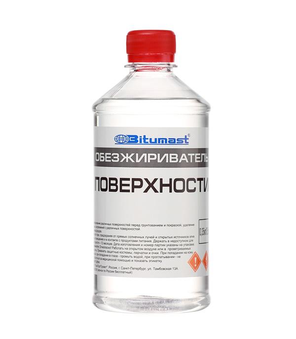 Обезжириватель Bitumast 0,35 кг/0,5 л обезжириватель bitumast 0 7 кг 1 л