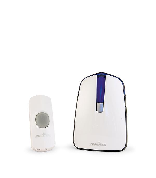 Звонок Мелодика Б530 32 беспроводной с влагозащищенной кнопкой мелодии 4 уровня громкости звонок электрический с кнопкой светозар нота 58037