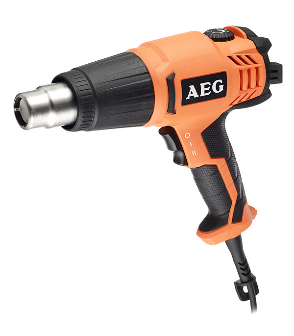 Фен строительный AEG HG600VK 2000 Вт насадка импульсная aeg omni ih 440730
