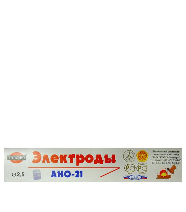 купить Электроды Каменский ОМЗ АНО-21 2.5 мм 1 кг дешево