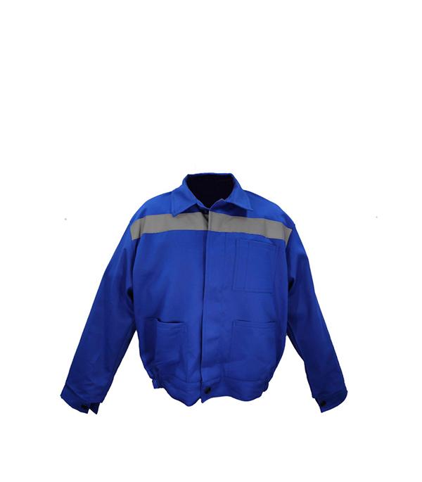 Куртка Бригадир светло-синяя размер 52-54 (104-108) рост 170-176 костюм авангард спецодежда трайпл р 104 108 рост 170 176 74943