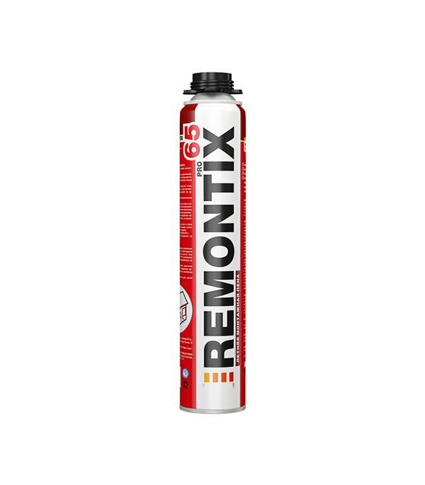 Пена монтажная Remontix Pro 65 профессиональная 850 мл