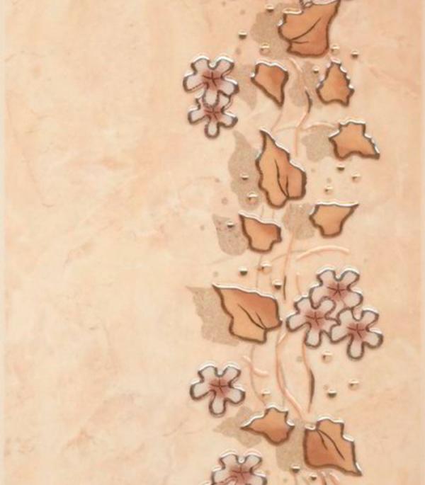 Плитка декор 200х300х7 мм Лючия светло-бежевый плитка декор 250х400х8 мм бамбук бежевый 1