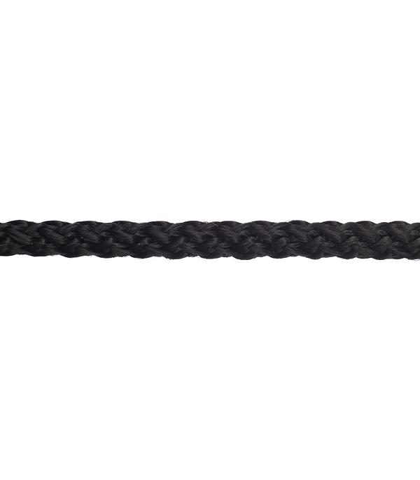 Плетеный шнур Белстройбат без сердечника полипропиленовый черный d4 мм 50 м