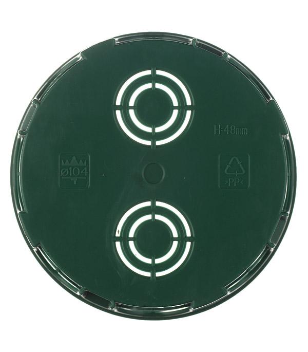 Коробка распределительная Schneider Electric для скрытой установки в бетон d100х51 мм 12 вводов зеленая IP30 с крышкой фото