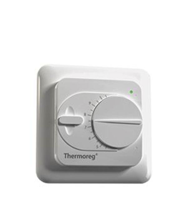 Терморегулятор механический Thermoreg TI-200 терморегулятор программируемый для теплого пола thermoreg ti 950 design
