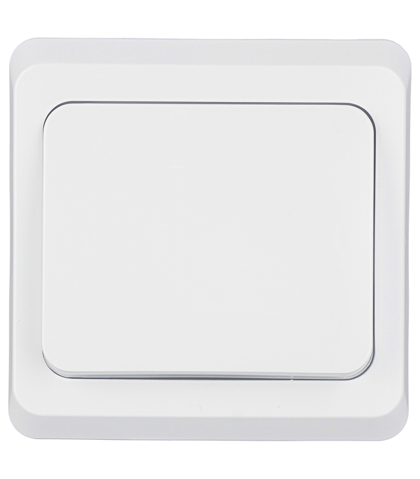 Купить Выключатель одноклавишный Этюд с/у белый, Schneider Electric, Белый