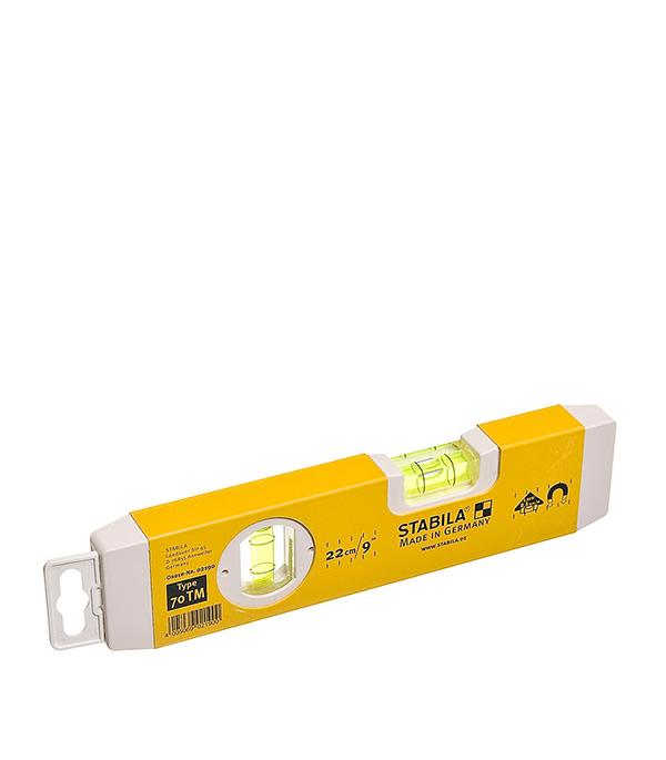 Уровень магнитный STABILA 70ТМ 22 см 2 глазка уровень 40 см 2 глазка магнит усиленный тип 80ам stabila профи
