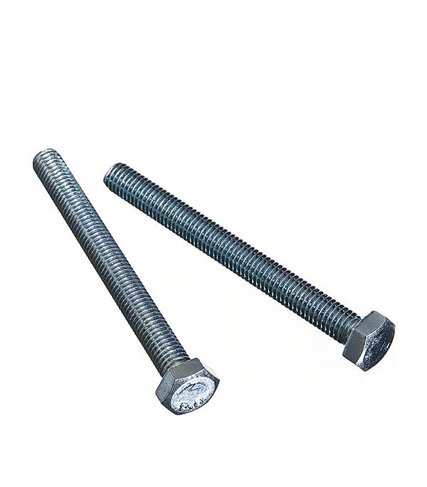 Болты оцинкованные М8х80 мм DIN 933 (2 шт) болты оцинкованные м20х60 мм din 933 8 шт