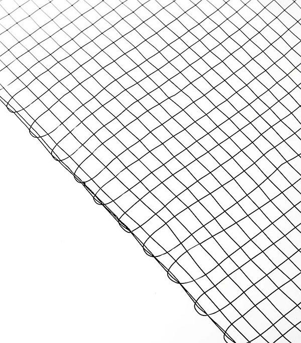 Сетка штукатурная тканая ячейка 10х10 мм d0.5-0.6 мм (рулон 1х30 м) цены