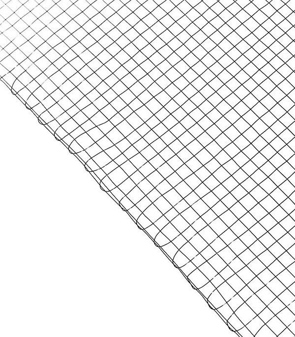 цены Сетка штукатурная тканая ячейка 8х8 мм d0.4-0.5 мм (рулон 1х30 м)