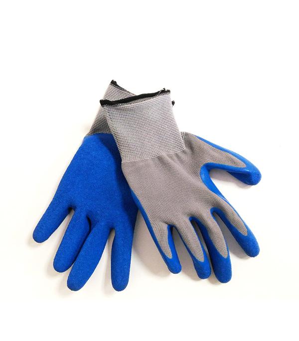 Перчатки нейлоновые со вспененным нитриловым покрытием Эконом перчатки без пальцев шерстяные с рисунком розовые