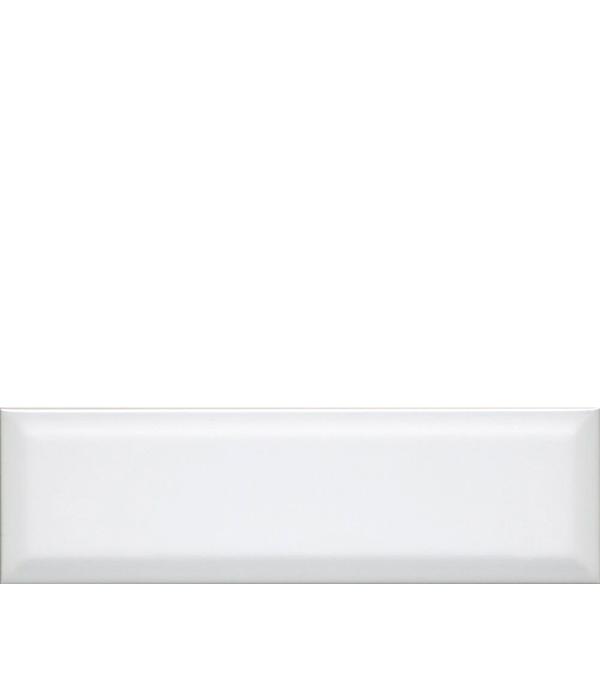 Плитка облицовочная 285х85х9,2 мм Аккорд белый грань (40 шт=0,97 кв.м) напольная плитка kerama marazzi петергоф голубой 40 2x40 2