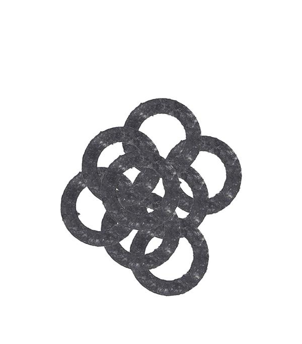 Прокладка 3/4 паронитовая (10 шт) прокладка межсекционная д радиатора 1 паронит 2 шт