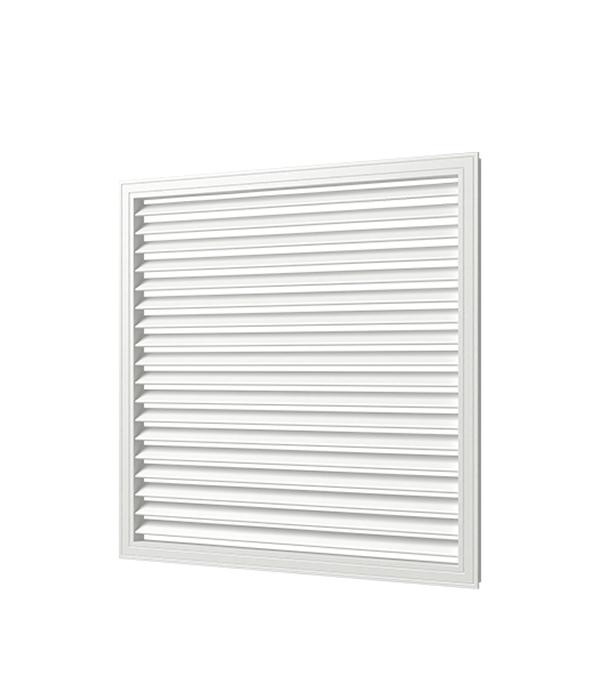 Решетка вентиляционная, 600х900, белая, ПВХ