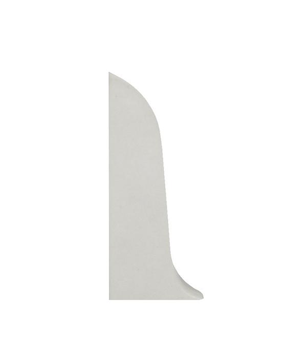 Заглушки торцевые (левая + правая) Wimar 58 мм белый (2 шт)