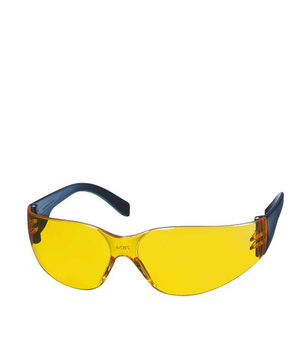 Купить Очки защитные желтые KWB Профи, Желтый