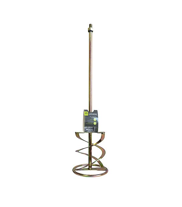 Миксер-насадка (венчик) для цементных растворов Armero 160x750 мм хвостовик М14 (1 шт.)