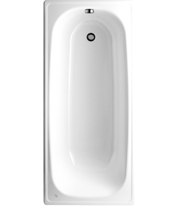 Ванна стальная JIKA Riga 170х70см толщина 2,2 мм без ножек jika ванна гидромассажная jika floreana xl 170х75 белая 2 3775 0 000 000 1