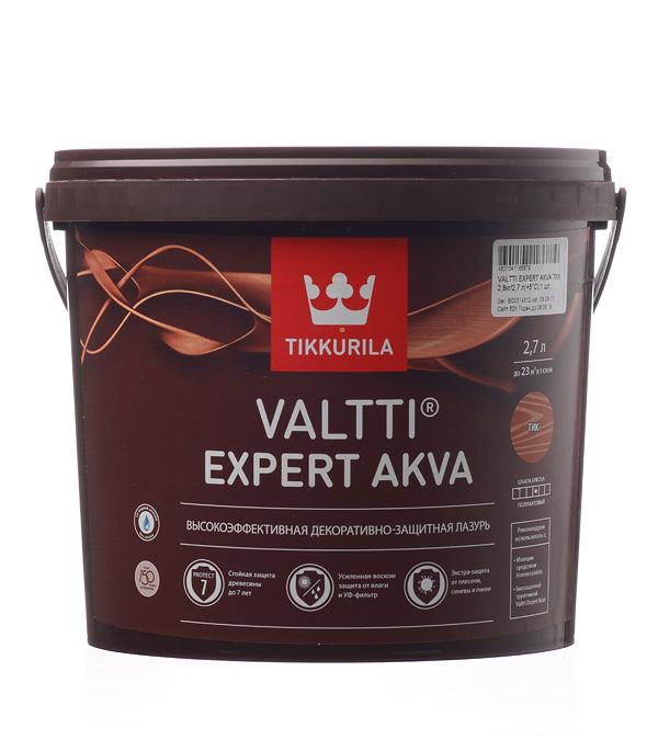 Антисептик Valtti Expert Akva тик Тиккурила 2,7 л антисептик valtti puuoljy основа ec тиккурила 2 7 л