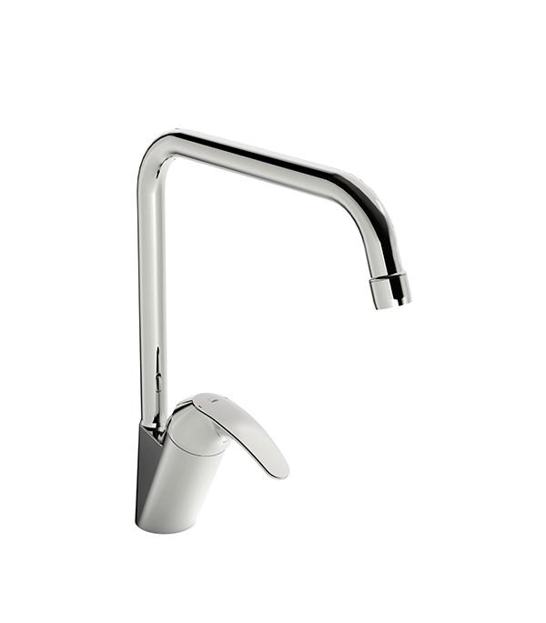 Смеситель для кухни ORAS POLARA 1438F однорычажный с высоким изливом смеситель для кухни vidima уно с литым поворотным изливом ba241aa