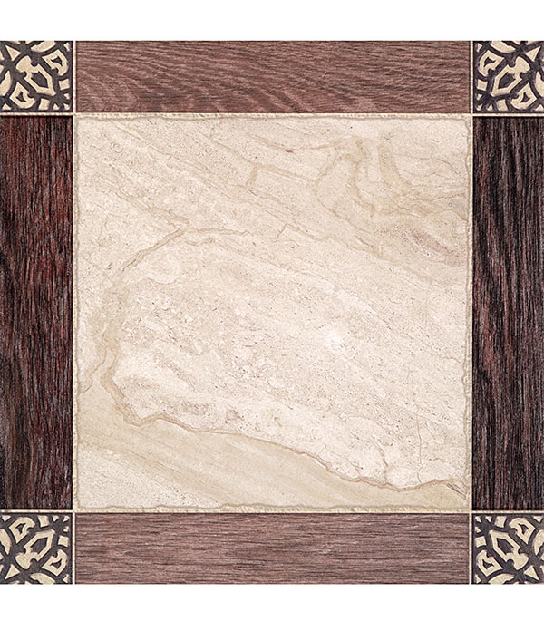 Купить Керамогранит 450х450х8 мм Тулуза 01 бежевый темный (8 шт. = 1, 62 кв.м), Gracia Ceramica, Бежевый